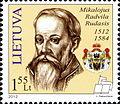 Mikołaj Radziwiłł 2012 Lithuania stamp.jpg