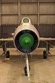 Mikoyan-Gurevich MiG-21F Fishbed-C HeadOn Modern Flight NMUSAF 25Sep09 (14413690108).jpg
