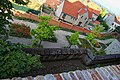 Mikulov - Castle Park - View NW & Down on Rose Garden.jpg
