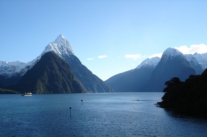 New Zealand's Milford Sound.
