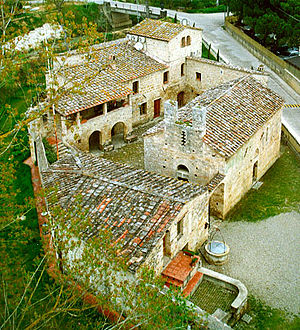 Militia Templi - The Castello della Magione in Poggibonsi, built in the Eleventh Century, is the headquarters of the Militia Templi. It now consists of a church, the residence of the Grand Master, offices and guest rooms.