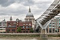Millennium Bridge with St. Paul's Cathedral (21000917708).jpg