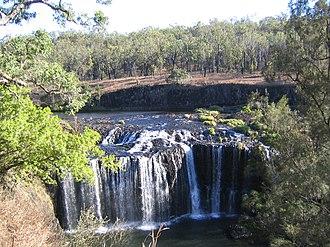 Millstream Falls National Park - Millstream Falls