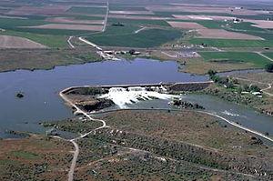 Milner Dam - Image: Milner dam id us