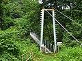 Minakami Power Station weir lake bridge.jpg