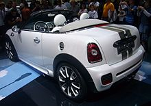 Mini Coupé And Roadster Wikipedia