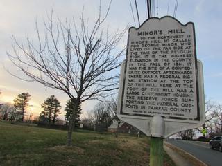 Minors Hill hill in Arlington County, Virginia