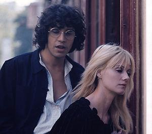 Miou-Miou - Miou-Miou shooting in Paris, in 1975