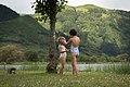 Mis chicas, lugareñas en las Azores (35773314541).jpg