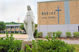 Marian High School (Mishawaka, Indiana) - Image: Mishawaka Marian High School Photo