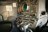 Missile guidance system control station of a 1S91 radar