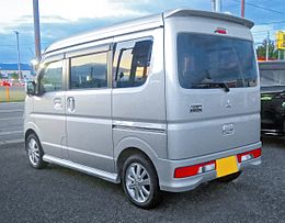 Mitsubishi TownBox G 4WD DS17W Rear.jpg
