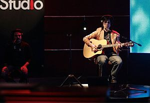 Coke Studio (Pakistan) -  Mizraab performing live at Coke Studio, 2011.