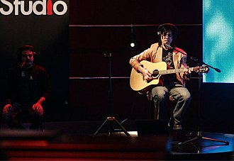 Coke Studio (Pakistan) -  Mizraab performing live at Coke Studio, 2011.