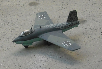 Messerschmitt Me 263 - Model of Me 263