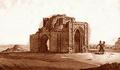 Mohammedan chapel in Great Madjars. Drawing by G. Geisler (Pallas 1799).png