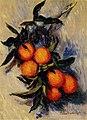 Monet - branch-of-orange-bearing-fruit.jpg