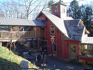 National Register of Historic Places listings in Franklin County, Massachusetts - Image: Montague The Bookmill