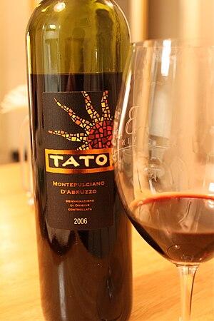 Montepulciano (grape) - Montepulciano D'Abruzzo wine.