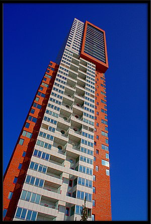 Montevideo (Rotterdam) - Image: Montevideo tower
