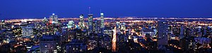 Downtown Montreal - Downtown Montreal skyline