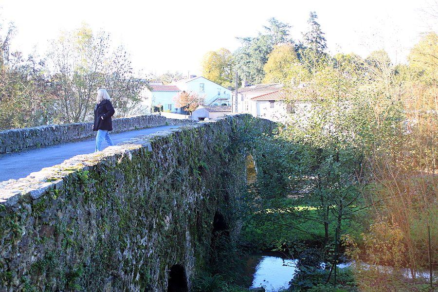 Pont de Bohardy, Fr-49-Montrevault.