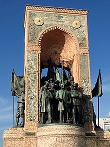 Monument of the Republic, Istanbul, group.jpg