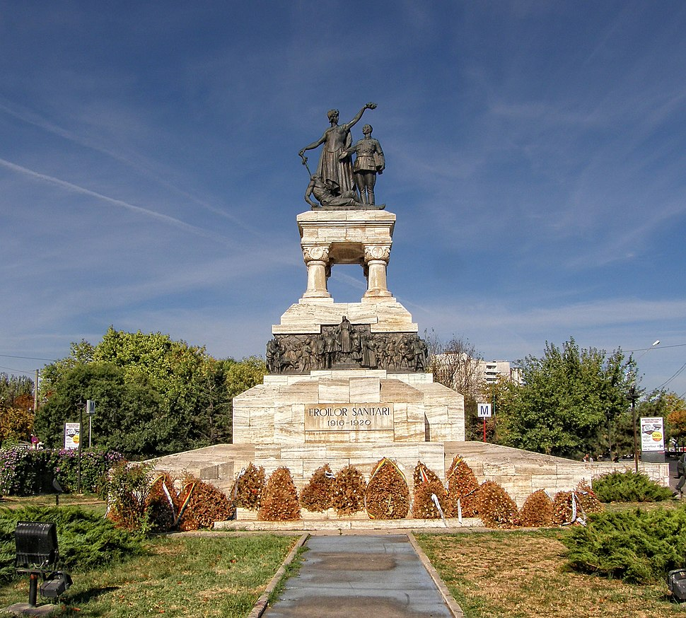 Monumentul Eroilor Sanitari - panoramio (1)