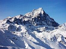 il Monviso, la montagna più alta delle Alpi Cozie