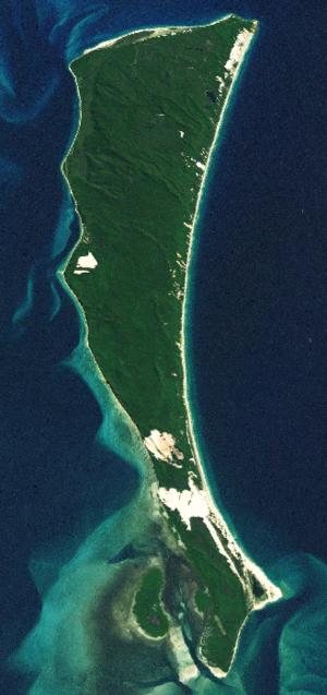 Moreton Island - Moreton Island satellite image