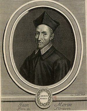 Jean Morin (theologian) - Jean Morin.