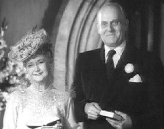 Moroni Olsen - Moroni Olsen and Billie Burke in Father's Little Dividend (1951)