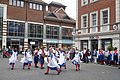 Morris dancers in Rose Square, Canterbury - geograph.org.uk - 1283581.jpg