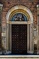 Mosaïque de Sainte Scholastique et Saint Benoît, San Simpliciano, Milano - DS5 6047.jpg