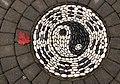 Mosaic with red leaf (8251656685).jpg
