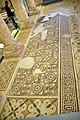 Mosaics of the Basilica, mid-6th century CE. Inside the Memorial Church of Moses. Mount Nebo, Jordan.jpg
