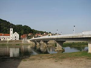 Hrvatska Kostajnica - View of the town