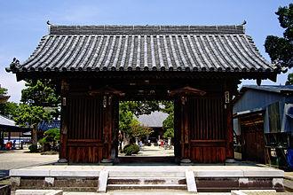 Motoyama-ji - Image: Motoyama Ji,Kagawa Nioumon