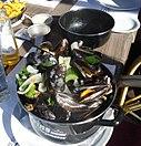 Moules-frites à la côte belge