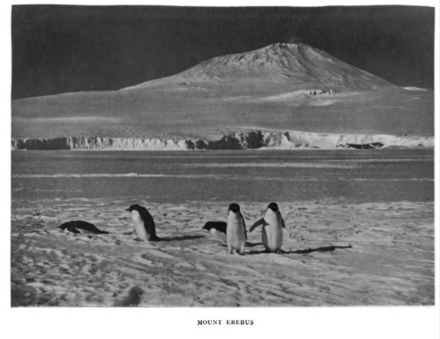Photograph of Mount Erebus taken by the Terra Nova Expedition Mount Erebus.png