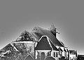 Moyencourt-lès-Poix église (chevet Noir et Blanc) 1.jpg