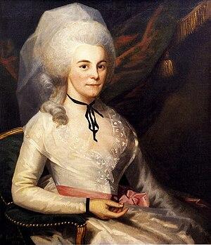 Elizabeth Schuyler Hamilton - Elizabeth Schuyler Hamilton by Ralph Earl, 1787