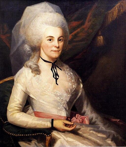 Elizabeth Schuyler Hamilton by Ralph Earl