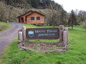 Mount Pisgah Arboretum - Mount Pisgah Arboretum sign