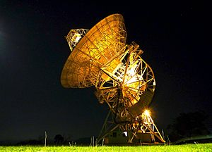 Radio astronomy - The Mount Pleasant Radio Telescope is the southern most antenna used in Australia's VLBI network