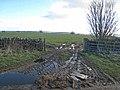 Muddy gateway - geograph.org.uk - 358646.jpg