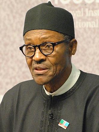 Muhammadu Buhari - Image: Muhammadu Buhari Chatham House cropped