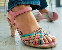 Image Result For Multi Colored Sandals