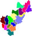 Municipalities of Queretaro (color).png