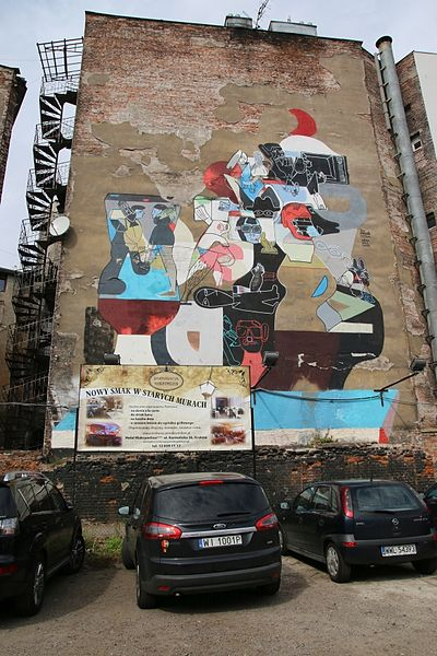 Plik:Mural, Kraków, ul. Karmelicka 28; fot. 01.jpg
